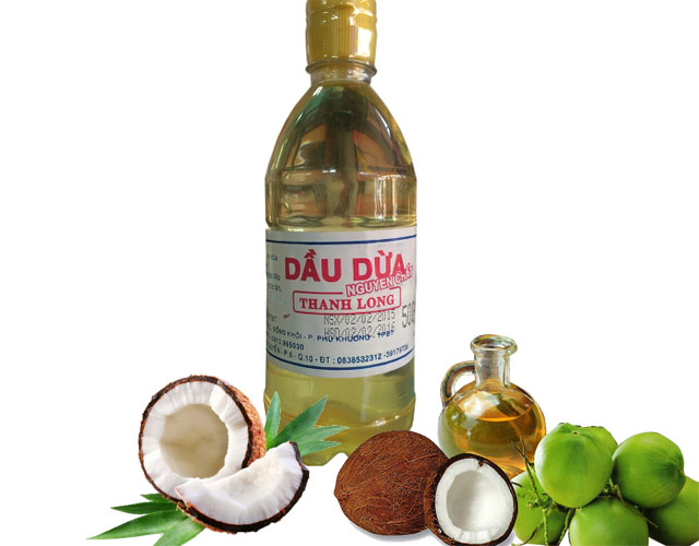 [THQ Vietnam] VIRGIN COCONUT OIL Thanh Long 500ml*50bottles