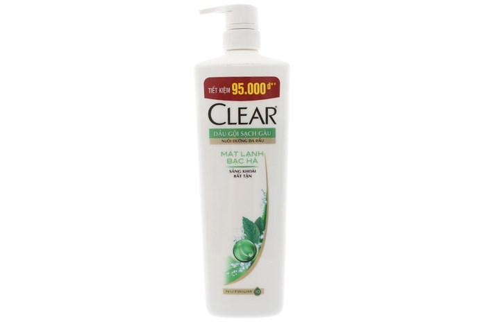 CLEAR Shampoo Fresh Mint  900gr