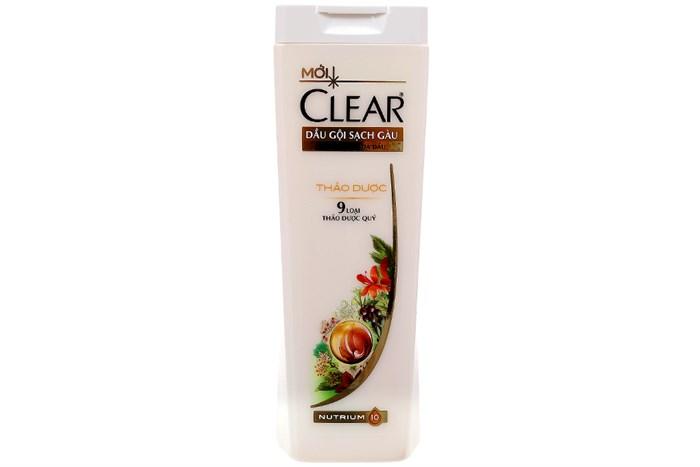 CLEAR Shampoo herbal  180gr