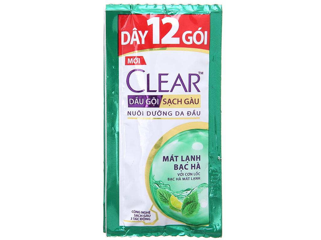 Clear Mint Shampoo for men 5g * 12 sachets * 720 packs