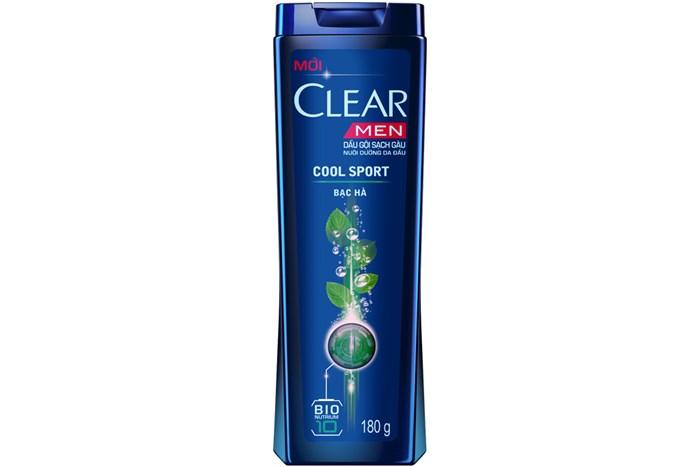 CLEAR MEN Shampoo COOL SPORT 180 gr