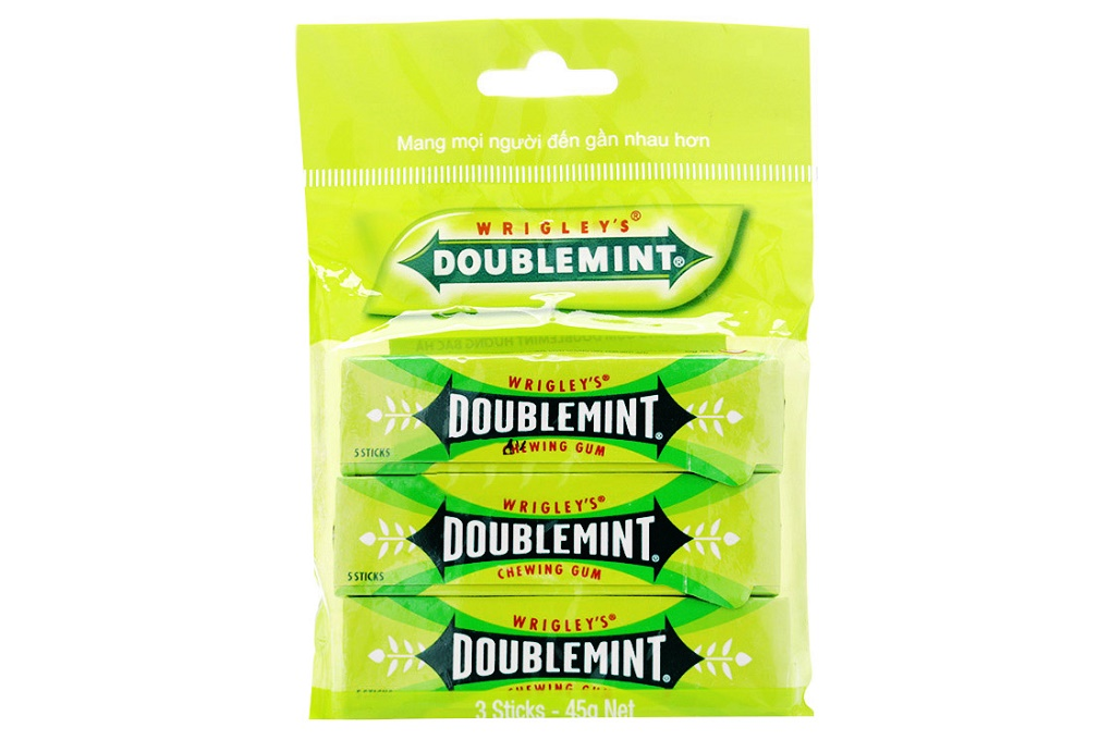 SINGUM DOUBLEMINT Chewing Gum 5 sticks