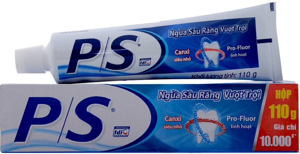 P/S toothpaste max cavity protection 100gr