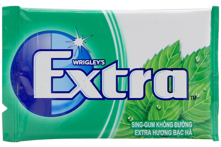 Wringley Extra chewing Gum Spearmint blister