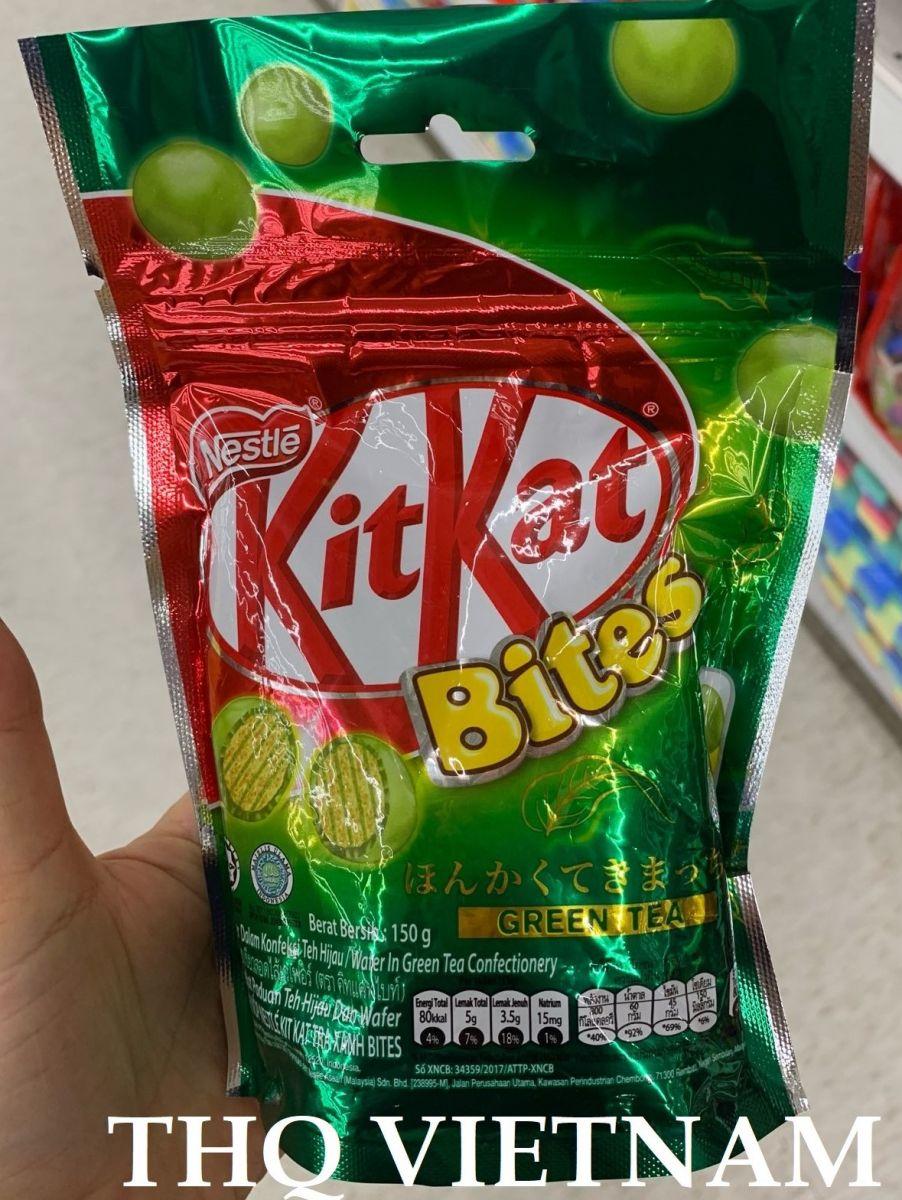 Kitkat Bites GreenTea 150g