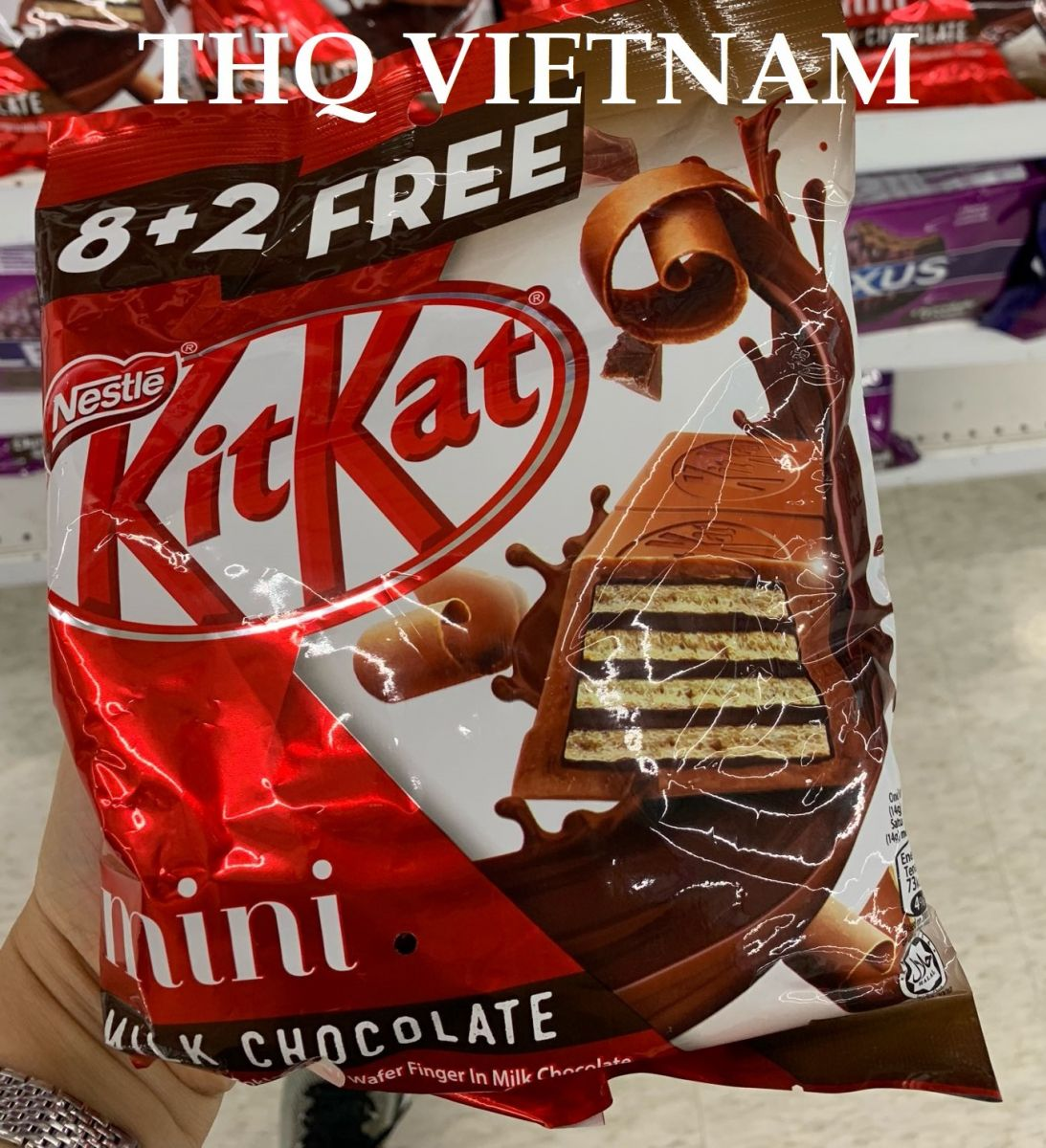 Kitkat Bars Mini Milk Chocolate 8+2free