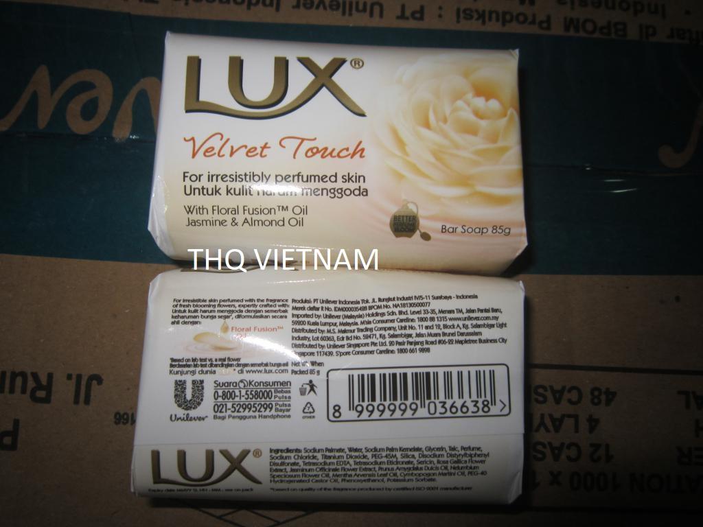 LUX SOAP 85GM X 144 VELVET TOUCH