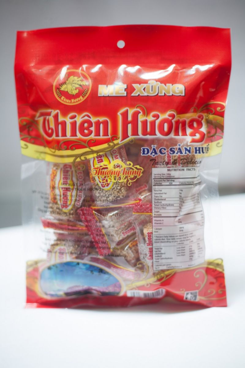 Thien Huong sesame sprinkled Candy 220g