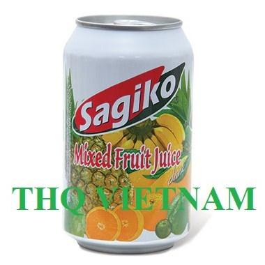 Sagiko Fruit Juice 320ml (Mixed Fruit Juice, Mango, Pineapple,...)