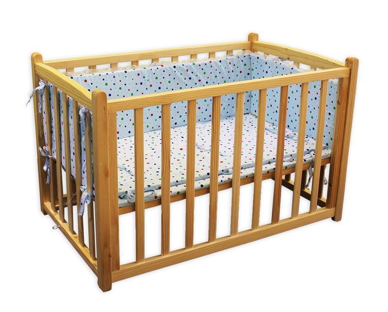 100% Natural Wooden Automatic Baby Cradles