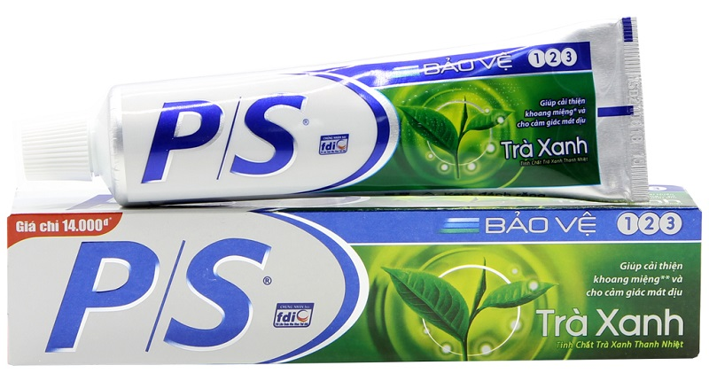 P/S toothpaste Green tea 200gr*36 tubes