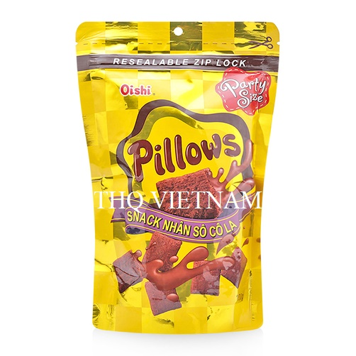 [THQ VIETNAM ] Snack Pillow Oishi Chocolate Filling 100 g*50packs