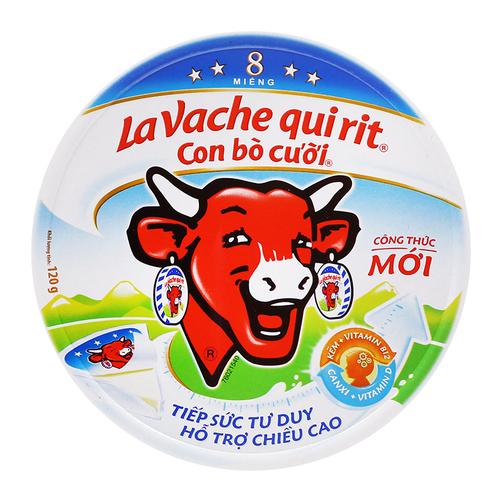 LA VACHE QUI RIT Cheese Laughing Cow