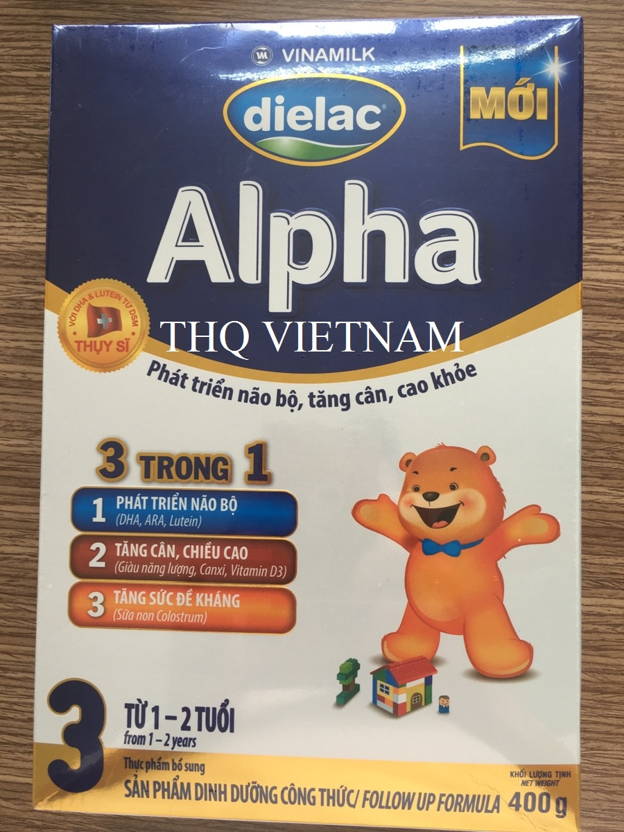 [THQ VIETNAM ] Diealac Alpha baby powder milk step 3 400gr*24 boxes