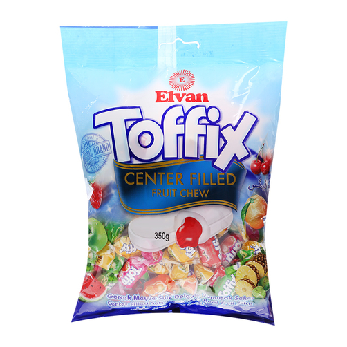 Toffix Assorted Fruity Soft Candy 350gr/450gr/500gr