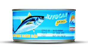 WHITE/LIGHT MEAT TUNA IN OIL 200GR X 48 CANS