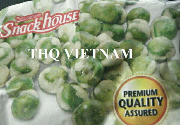 [THQ VIETNAM ]GARLIC COATED GREEN PEAS GOODY 40gr*100 packs