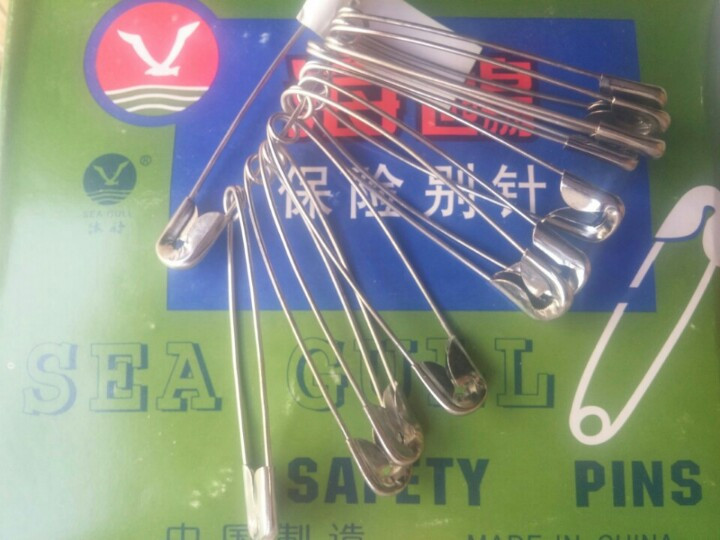 [THQ VIETNAM] SAFETY PIN ALL SIZES 3.5cm 12pcs*72sets*50boxes
