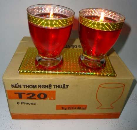 [THQ VIETNAM] HIGH QUALITY CANDLE IN GLASS JARS