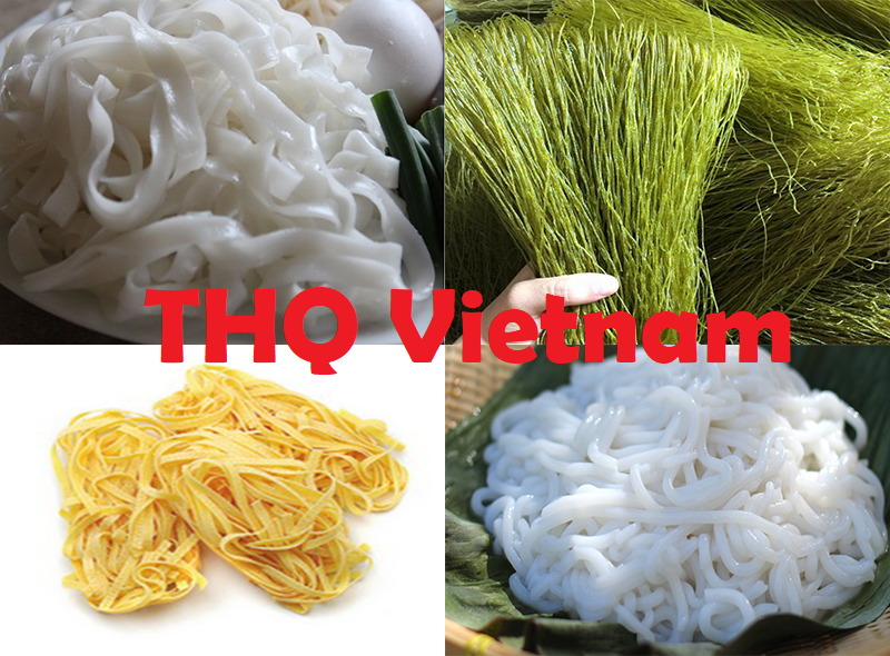 Vietbnam Rice Noodles (Phở) Flavors