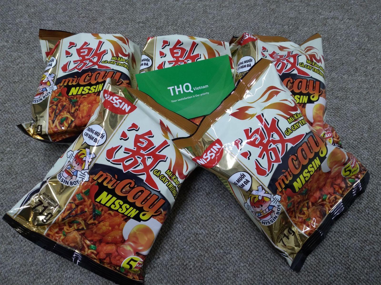 Nissin Noodle Korean Flavor In bag